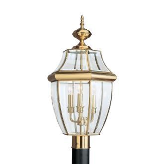 Sea Gull Lighting 8239-02 Three Light Outdoor Post Fixture
