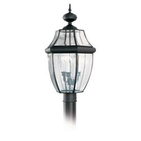 Sea Gull Lighting 8239-12 Three Light Outdoor Post Fixture