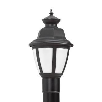 Sea Gull Lighting 82390BL-12 Belmar - One Light Outdoor Post Lantern