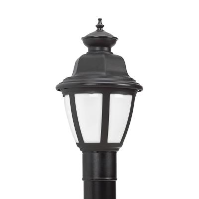 Sea Gull Lighting 82390BL-12 Belmar - One Light Outdoor Post Lantern