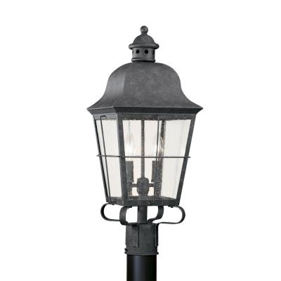Sea Gull Lighting 8262-46 Two-Light Colonial Outdoor Post Lantern