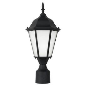 Sea Gull Lighting 82938BL-12 Bakersville - One Light Outdoor Post Lantern