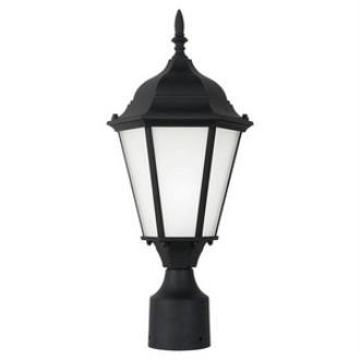 Sea Gull Lighting 82938BL-12 Bakersville - One Light Outdoor Post Lantern
