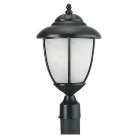 Sea Gull Lighting 82950PBL-12 Yorktowne - One Light Outdoor Post Lantern