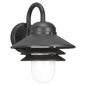 Sea Gull Lighting - 83055-12 - Nautical - One Light Outdoor Wall Mount