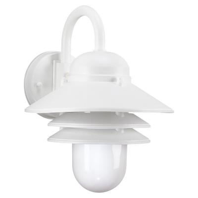 Sea Gull Lighting 83055BLE-15 Nautical - One Light Outdoor Wall Mount