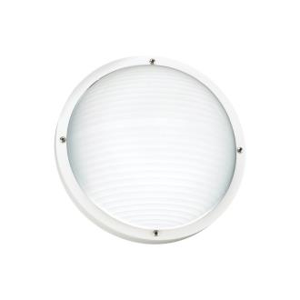 Sea Gull Lighting 83057-15 Bayside - One Light Outdoor Bulk Head