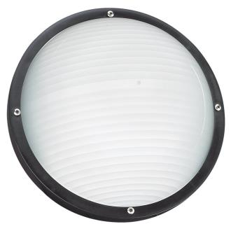 Sea Gull Lighting 83057BLE-12 Bayside - One Light Outdoor Bulk Head