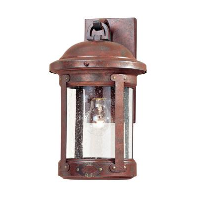 Sea Gull Lighting 8440-44 Weathered Copper Outdoor Lantern