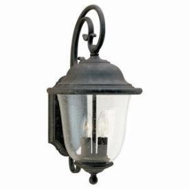 Sea Gull Lighting 8460-46 Two Light Wall Lantern