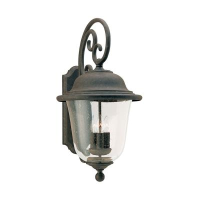 Sea Gull Lighting 8461-46 Three Light Outdoor Wall Fixture