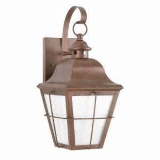 Sea Gull Lighting 8463D-44 Dark Sky Outdoor Wall Lantern