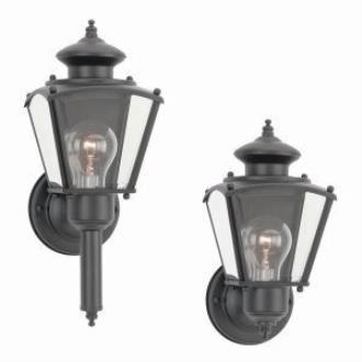 Sea Gull Lighting 8503-12 Single-light Classic Wall Lantern