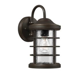 Sea Gull Lighting 8524401BLE-71 Sauganash - One Light Outdoor Wall Mount