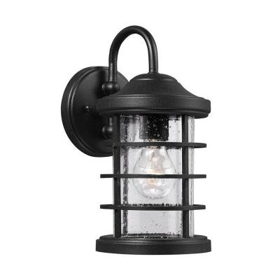 Sea Gull Lighting 8524401BLE-12 Sauganash - One Light Outdoor Wall Mount