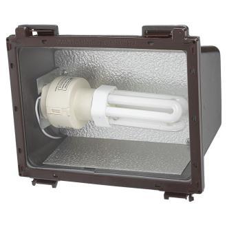 Sea Gull Lighting 86061PBL-10 Wall Packs - One Light Outdoor Flood