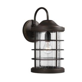 Sea Gull Lighting 8624401BLE-71 Sauganash - One Light Outdoor Wall Mount