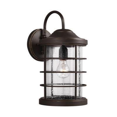 Sea Gull Lighting 8624401BLE-71 Sauganash - One Light Outdoor Wall Mount