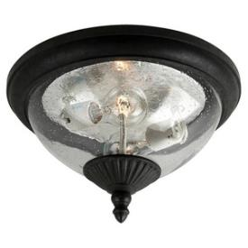 Sea Gull Lighting 88068-746 Lambert Hill - Two Light Outdoor Flush Mount