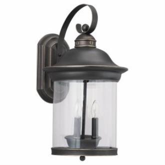 Sea Gull Lighting 88083-71 Three-light Hermitage Wall Lantern