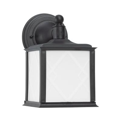 Sea Gull Lighting 88198BLE-12 Harbor Point - One Light Outdoor Wall Mount