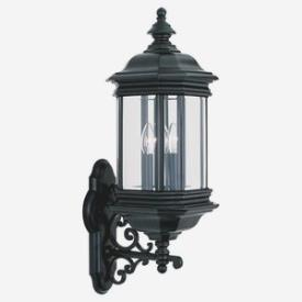 Sea Gull Lighting 8839-12 Three Light Outdoor Wall Fixture