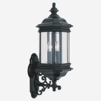 Sea Gull Lighting 8839-12 Three Light Outdoor Wall Fixture