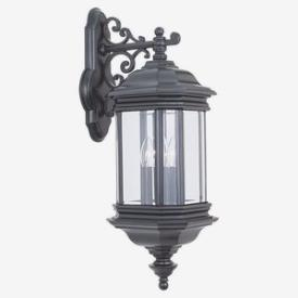 Sea Gull Lighting 8841-12 Three Light Outdoor Wall Fixture