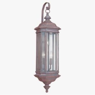 Sea Gull Lighting 8842-08 Three Light Outdoor Wall Fixture