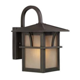 Sea Gull Lighting 88880-51 Medford Lakes - One Light Outdoor Wall Lantern
