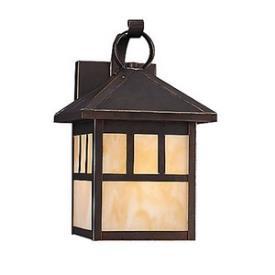 Sea Gull Lighting 89016BLE-71 Prairie Statement - One Light Outdoor Wall Mount