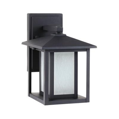 Sea Gull Lighting 89029BF Hunnington - One Light Small Fluorescent Outdoor Wall Lantern