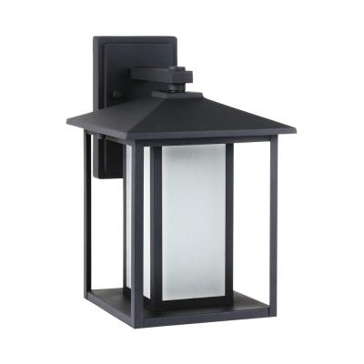 Sea Gull Lighting 89031BF Hunnington - One Light Large Fluorescent Outdoor Wall Lantern