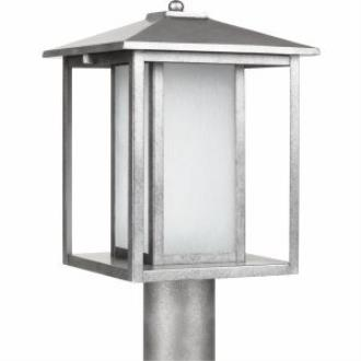 Sea Gull Lighting 89129BL-57 Hunnington - One Light Outdoor Post Lantern