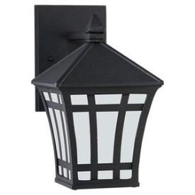 Sea Gull Lighting 89131BLE-12 Herrington - One Light Outdoor Wall Mount