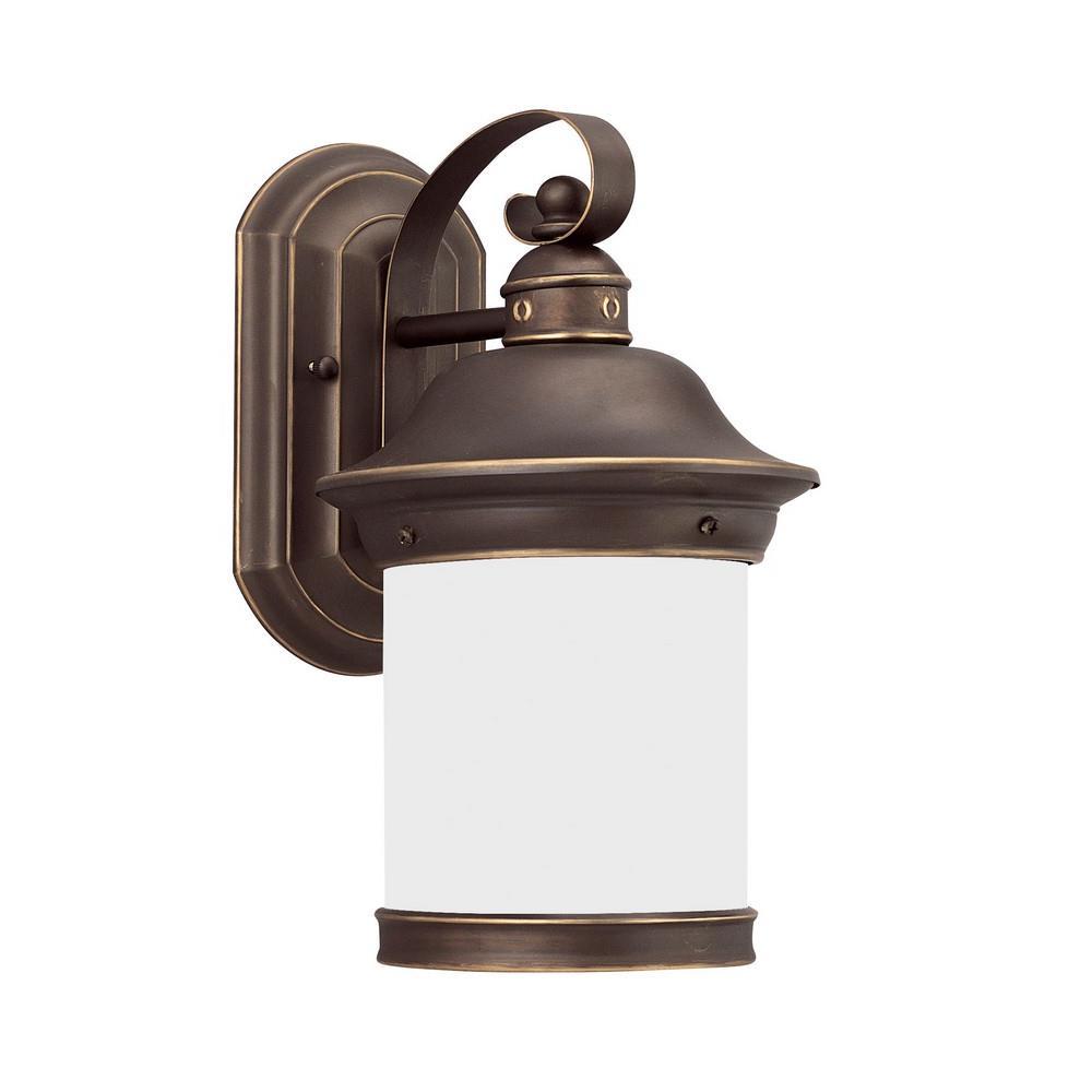 Hermitage 7 One Light Outdoor Wall Lantern