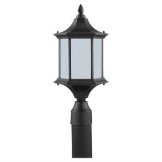 Sea Gull Lighting 89236BL-08 Ardsley Court - One Light Outdoor Post Lantern