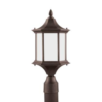 Sea Gull Lighting 89236BL-08 Ardsley Court - One Light Outdoor Post Lantern