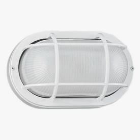 Sea Gull Lighting 8927PBLE-15 Single-Light Fluorescent Outdoor Wall Lantern