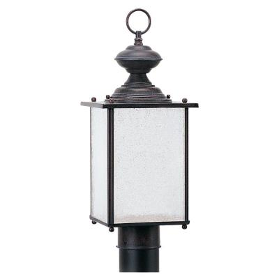 Sea Gull Lighting 89386BL-08 Jamestowne - One Light Outdoor Post Light