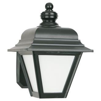 Sea Gull Lighting 8972PBLE-12 Single-light Fluorescent Wall Lantern