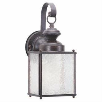 Sea Gull Lighting 8981PBLE-08 Jamestowne Fluorescent Wall Lantern