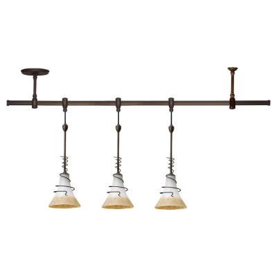 Sea Gull Lighting 94512-71 Three Light Saratoga Pendant Rail Kit