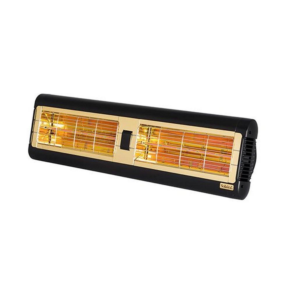 Solaira-SALPHA2-30240-L1B-Alpha Candel 3000W 240V Ultra Low Light Electric Radiant Infrared Heater  Black Finish