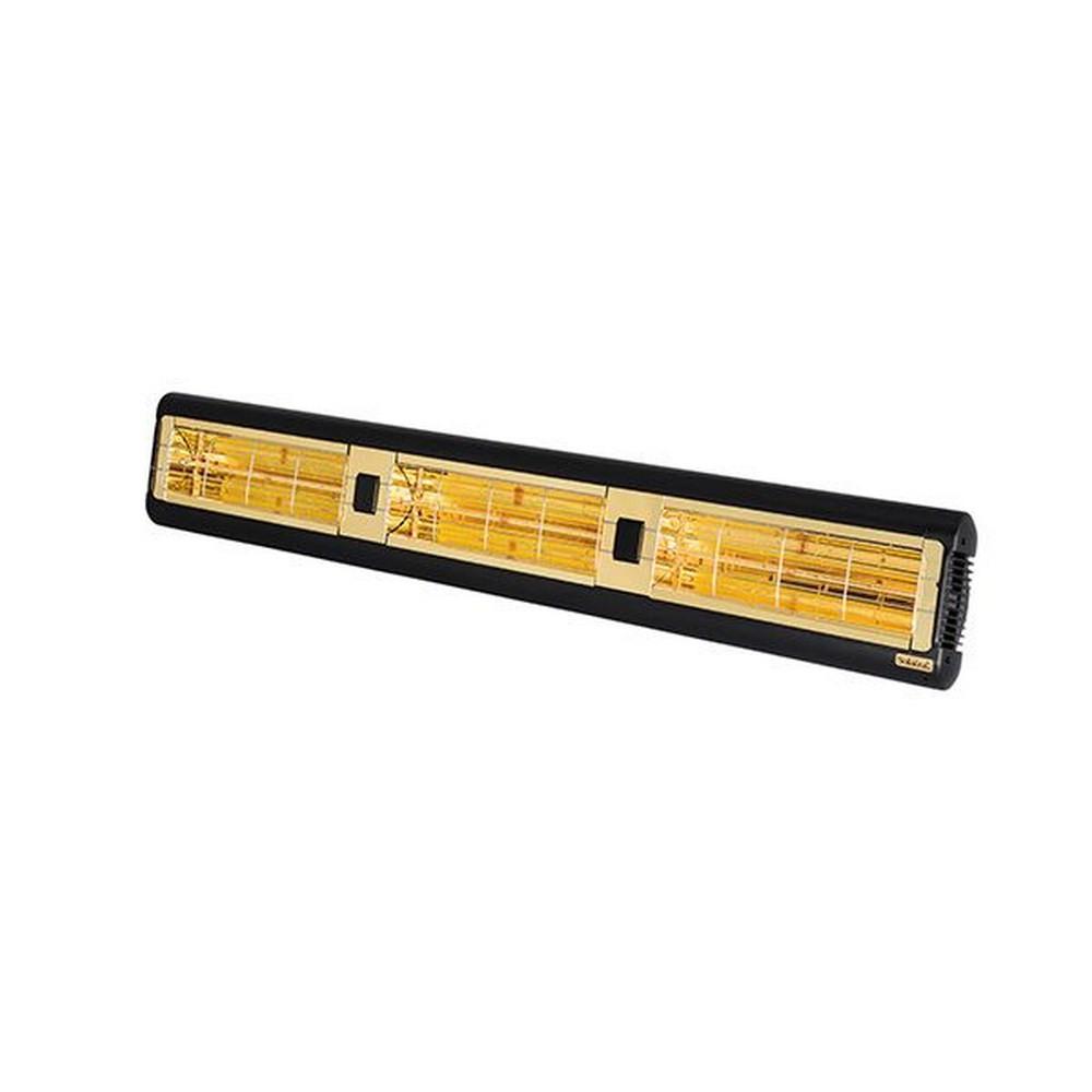 Solaira-SALPHA3-45240-L1B-Alpha Candel 4500W 240V Ultra Low Light Electric Radiant Infrared Heater -Black  Black Finish