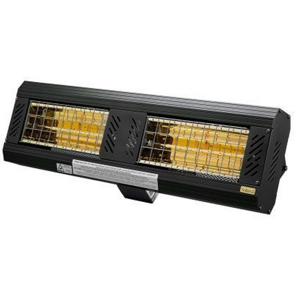 Solaira-SICR30240-L1B-ICR Series - 33.75 Inch 240V 3000W H2 Candel Electric Heater  Black Finish