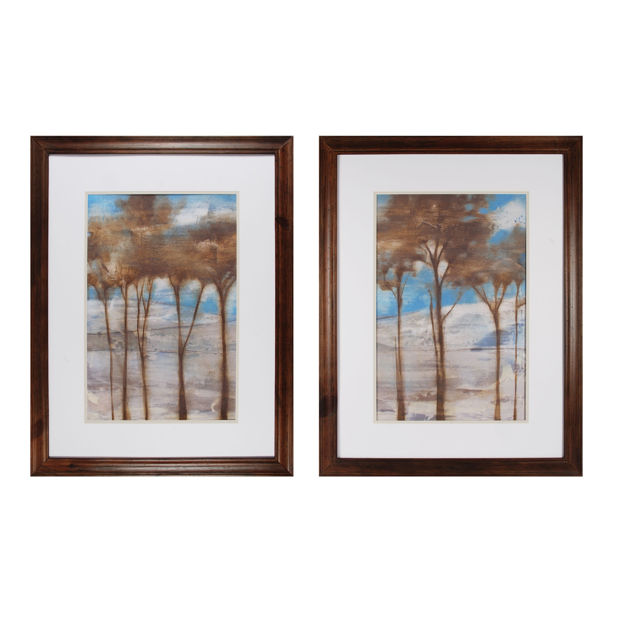 Sterling Industries-10228-S2-Near Dusk I And Near Dusk II - 35 Inch Wall Art  Natural Finish