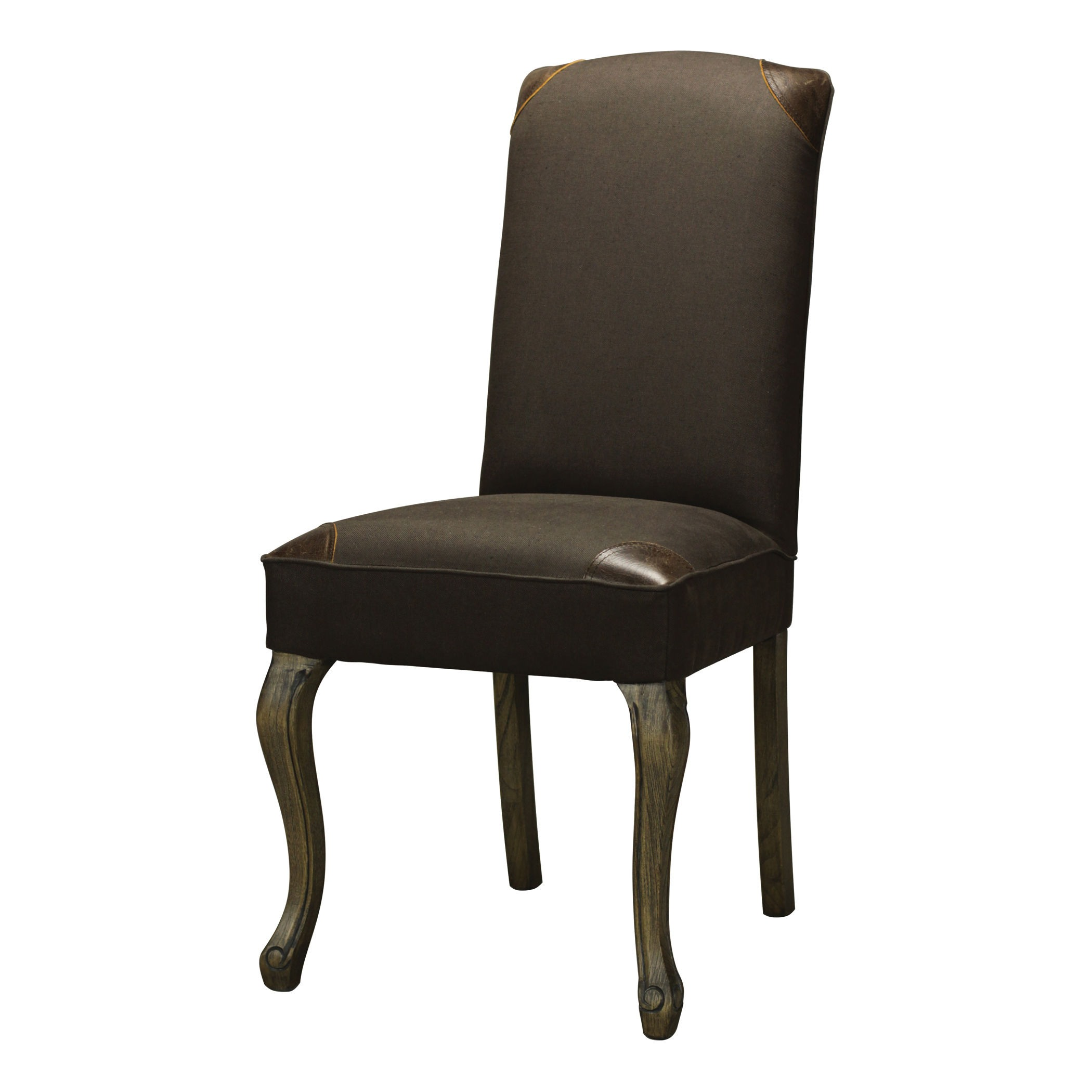 Sterling Industries-133-001-Stanhope - 19 Inch Chair  Aged Driftwood/Brown Finish