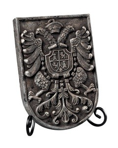 Sterling Industries - 93-10079 - 10 Decorative Coat of Arms Plaque