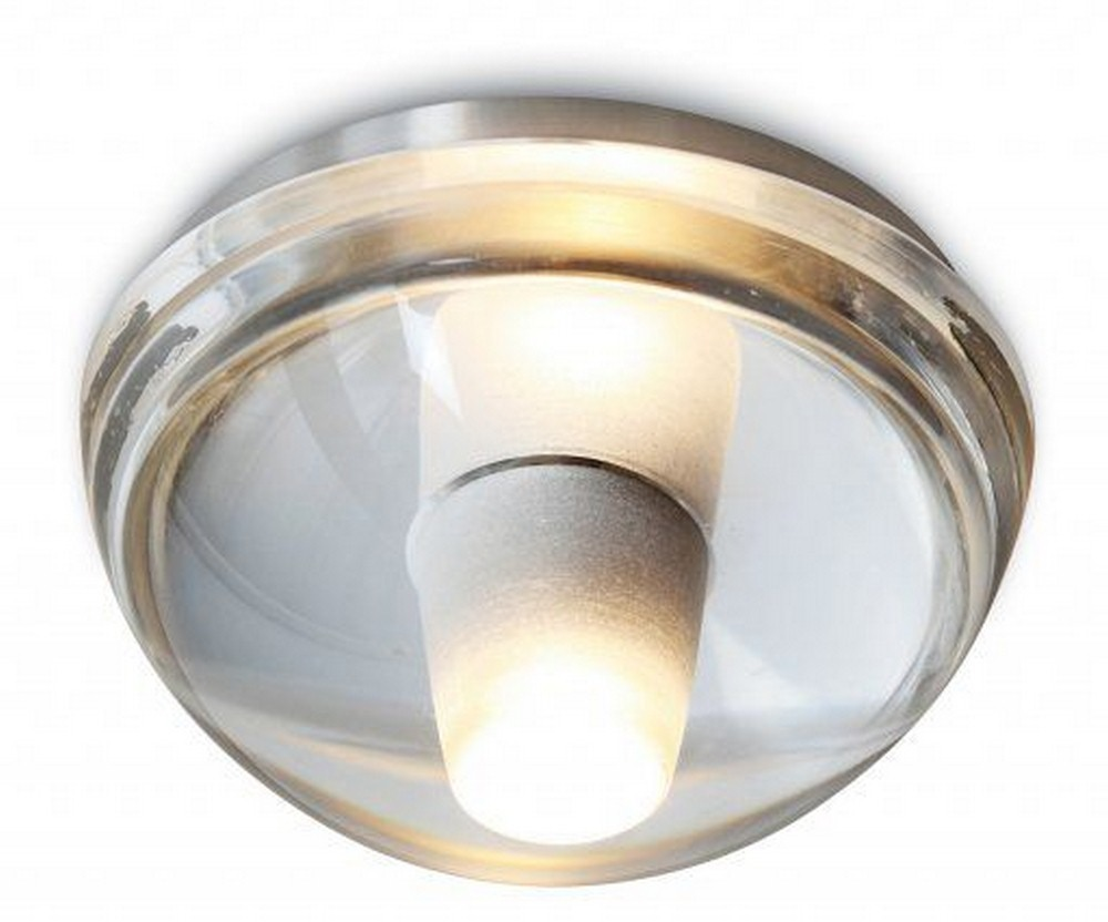 Stone Lighting-CL092CRL2-Gracie - 5.5 Inch 2W 1 LED Flush Mount  Polished Nickel Finish with Clear Glass